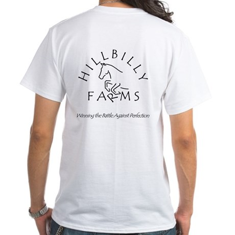 Hillbilly Farms White T-Shirt
