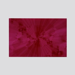 Shattered in Magenta Rectangle Magnet