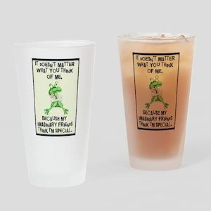 Imaginary Friends Drinking Glass