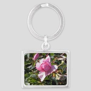 Marginal Way Rose Landscape Keychain