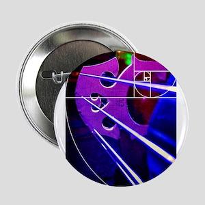 """Cello bridge with Fibonacci spiral 2.25"""" Button (1"""