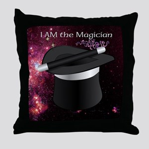 I AM the Magician Throw Pillow