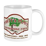 Marty's Place Tenth Anniversary Logo Mugs