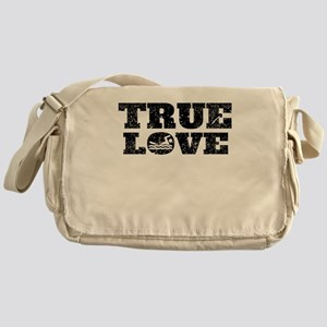 True Love Swimming (Distressed) Messenger Bag