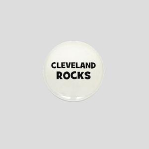 Cleveland Rocks Mini Button