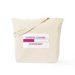 GODDESS LOADING Tote Bag