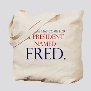 Time for Fred Tote Bag