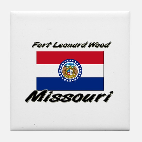 Fort Leonard Wood Missouri Tile Coaster