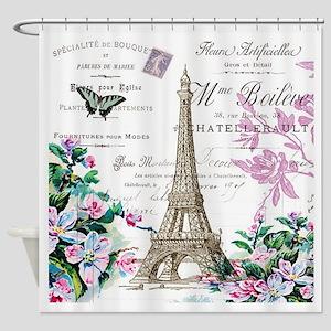 Paris VIIII Shower Curtain
