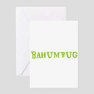 BAHUMBUG Greeting Cards