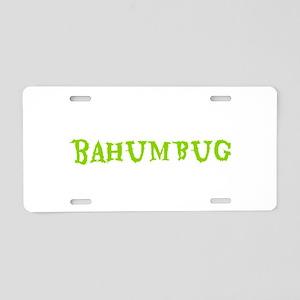 BAHUMBUG Aluminum License Plate