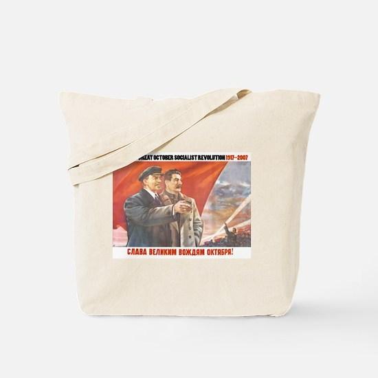 October Revolution Anniversary Tote Bag