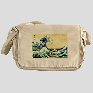 Great Wave off Kanagawa Messenger Bag