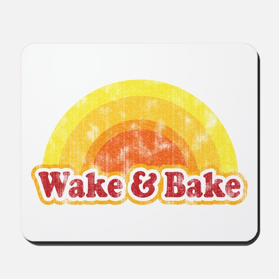 Wake and Bake Mousepad