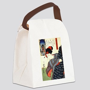 Kuniyoshi Utagawa Women 10 Canvas Lunch Bag