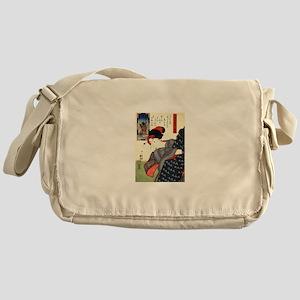 Kuniyoshi Utagawa Women 10 Messenger Bag
