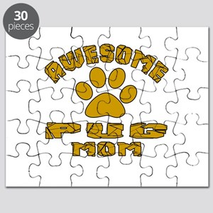 Awesome Pug Mom Dog Designs Puzzle