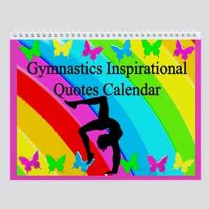 Pretty Gymnastics Wall Calendar