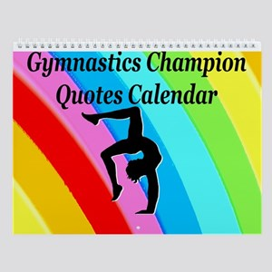 Gymnast Winner Wall Calendar