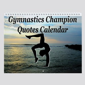 Winning Gymnast Wall Calendar