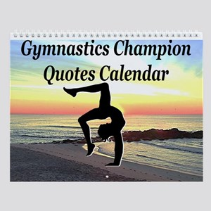 Champ Gymnast Wall Calendar