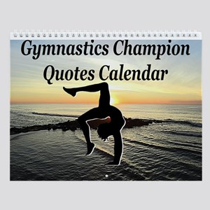 Gymnast Champ Wall Calendar
