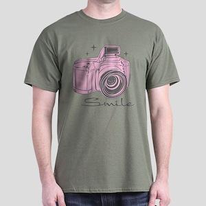 Camera Smile Dark T-Shirt