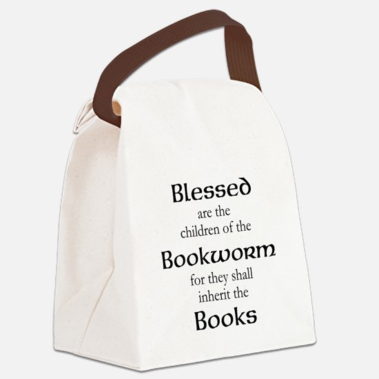 Book worm love Canvas Lunch Bag