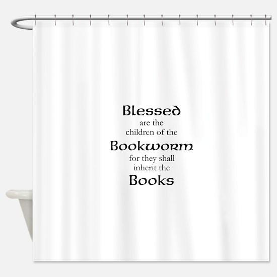 Book worm love Shower Curtain