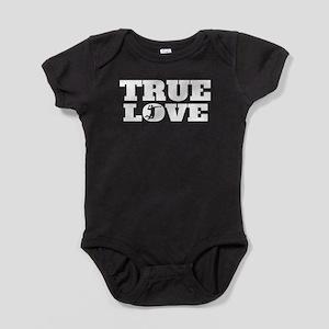 True Love Volleyball Baby Bodysuit