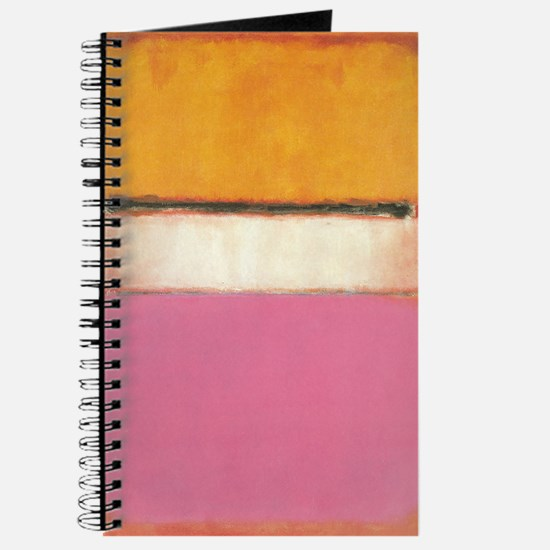 ROTHKO white-center-with orange and pink Journal
