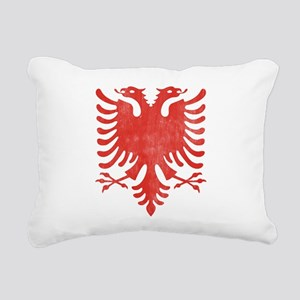 Albanian Eagle Rectangular Canvas Pillow