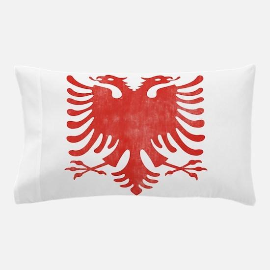 Albanian Eagle Pillow Case