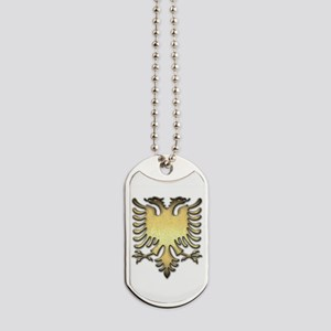 Gold Eagle Dog Tags