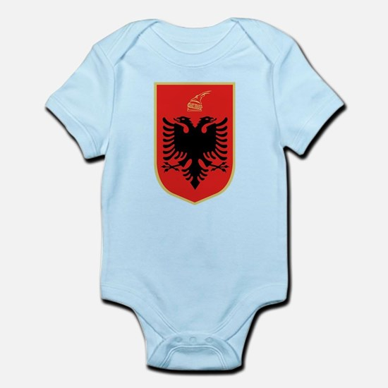 Albanian Coat of Arms Body Suit