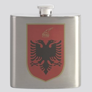Albanian Coat of Arms Flask