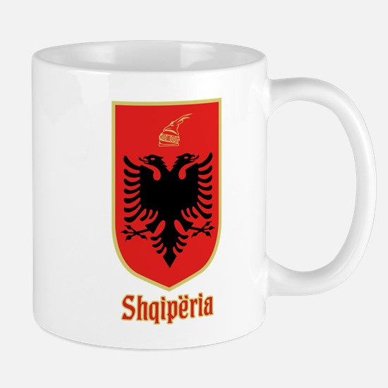 Albanian Coat of Arms Mugs