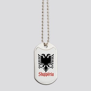 Albanian Eagle Dog Tags
