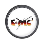 E=MC2 Relativity Wall Clock