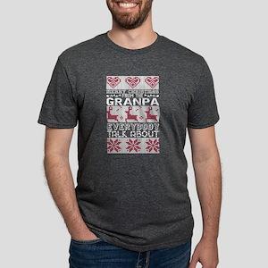Merry Christmas From Granpa Everybody Talk T-Shirt