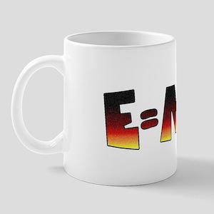 E=MC2 Relativity Mug