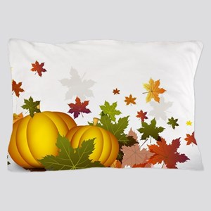 Thanksgiving Pumpkins Pillow Case