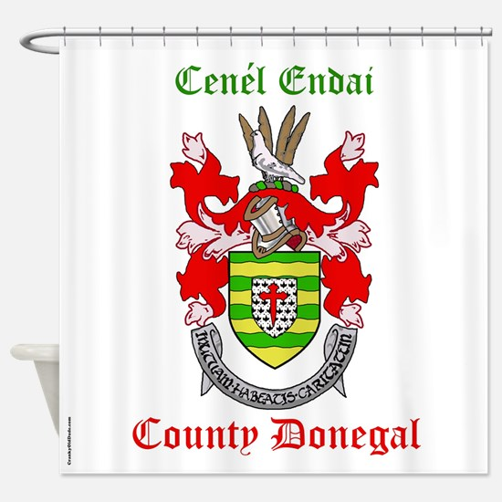 Cenel Endai - County Donegal Shower Curtain