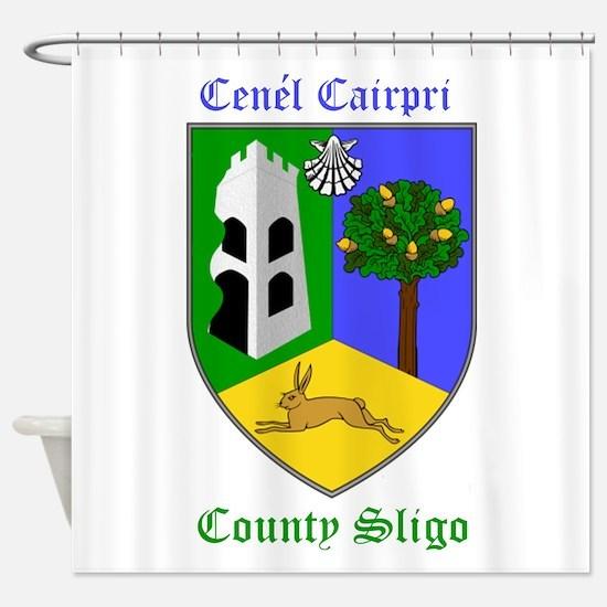 Cenel Cairpri - County Sligo Shower Curtain