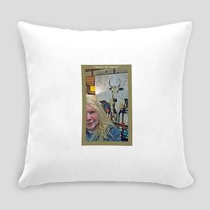 Animals-Bulls-Art Everyday Pillow