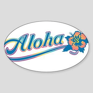 Aloha Rainbow Sticker