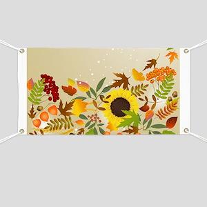 Golden Thanksgiving Banner