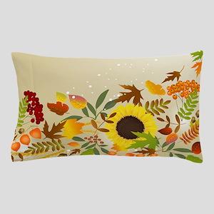 Golden Thanksgiving Pillow Case