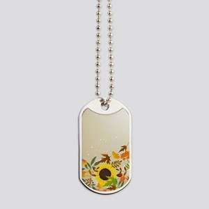 Golden Thanksgiving Dog Tags