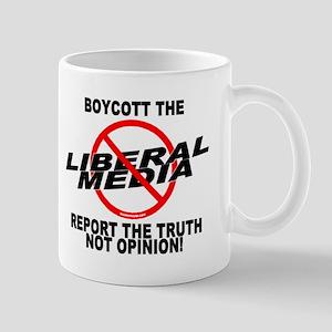 Boycott The Liberal Media Mug